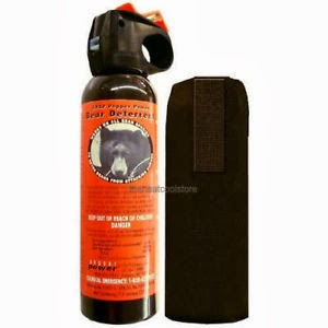 Difference in Bear and Pepper Spray