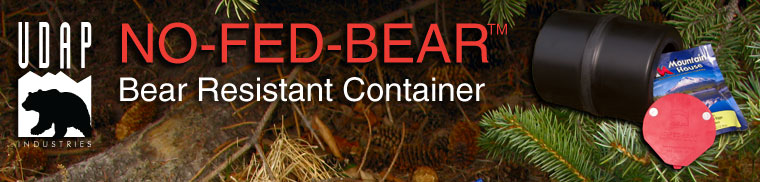 no-fed-bear bear resistant container
